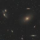 M86 Virgo Galaxy Cluster Heart,                                Michael Broyles