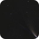 Comet Neowise and Big Dipper,                                Svajūnas Stroinas