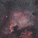 NGC 7000 North America Nebula & IC 5070 Pelican Nebula,                    Christophe Perroud