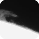 Solar Prominence Captured - Mono Version,                                  Chuck's Astrophot...