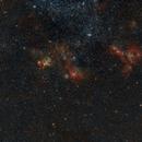 Nebula Complex in LMC NGC1955 - NGC 2014 - NGC2020,                                Michel Lakos M.