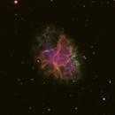 M1 - Crab Nebula (narrowband),                                Mark Spruce