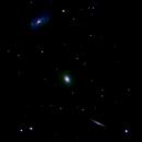 ngc5985 ngc5982 ngc5981 galassie nel draco           distanza 110 milioni  A.L.,                                Carlo Colombo