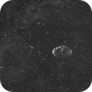 C27 Crescent Nebula-Ha-Meade 80 ED triplet-Orion flattener-ASI 1600 MM-Pro,                                Adel Kildeev
