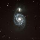 M51 - Whirlpool Galaxy,                                Sascha Forcher