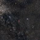 Capella<>Aldebaran<>M45 Pleyades (Tauro) + Mirfak<>NGC1499 California Nebula(Perseo),                                Txema Asensio