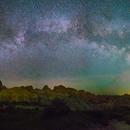 Milky Way Panorama from Badlands National Park,                                JeffSavadel