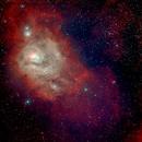 Lagoon Nebula Messier 8 NGC 6523,                                Al Bates