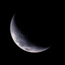 Moon on 17 May 2021 (25.5%),                                KiwiAstro
