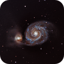 M51 Whirlpool Galaxy,                                Michael Broyles