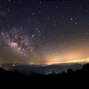 Milky Way from Palomar Mountain (2),                                Dan Watt