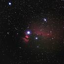 Horsehead and flame nebulae,                                Paul Cimino
