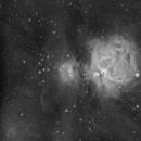 Orion Nebula Complex in H-alpha,                                  JDJ