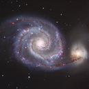 M51, The Whirlpool Galaxy (close-up),                                Ruben Barbosa
