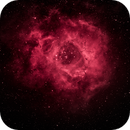 First Narrow-Band Attempt: Rosette Nebula in the Backyard,                    Min Xie