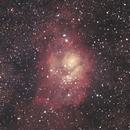 M8 - The Lagoon Nebula,                                LacailleOz