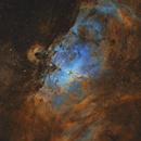 Eagle Nebula in SHO,                                Christian_Hilbert