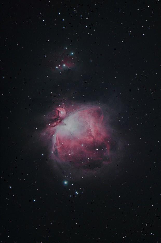 M42, M43, The Running Man Nebula,                                Kevin Smith