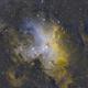 M16m- the eagle nebula,                                Jganz