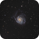 The Pinwheel galaxy M101,                                julastro