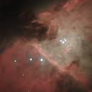 Combination of M 42 3x200x1s +3x100x3s RGB,                                Spacecadet