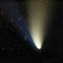 COMET C/1995 O1 Hale-Bopp & M34  (diafilm, 1997),                                gigiastro