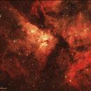 NGC 3372 - Carina Nebula,                                Uri Abraham