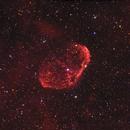 NGC6888 Crescent HaRGB,                                Piotr Ambroziak