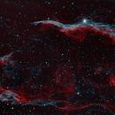 Western Veil Nebula,                                Frank Turina