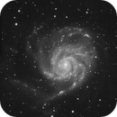 M101 and Vicinity - PHD2 Multistar Guiding Test During an Otherwise Stark, Starless Winter,                                Ben Koltenbah