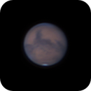 """Mars on 2020-09-30 at 22.4"""" with 5"""" Maksutov,                                Jesco"""