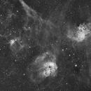 IC405,  IC410 widefield,                                simonct