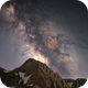 Milky way at the Col of Tourmalet, under the Pic du Midi,                                Maxime Tessier