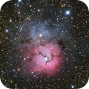 M20 - The Trifid Nebula,                                pmumbower