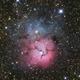 M20 - The Trifid Nebula,                                pmumbower