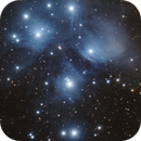 The Pleiades Cluster,                                  Wesley Creech