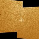 Ha panorama January 2012 AR 11395, 11391, 11393.,                                Brian Ritchie
