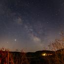 Milky way in Sardinia,                                Gianluca Galloni