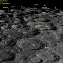 Moon South Pole,                                 Astroavani - Avani Soares