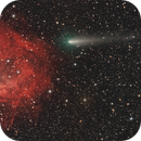 A little Less Smoke, Clarity Prior to Entering Transit, Comet 4P/ Faye and Lower's Nebula,                                Dan Bartlett