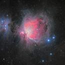M42 the Orion Nebula,                                astrotf