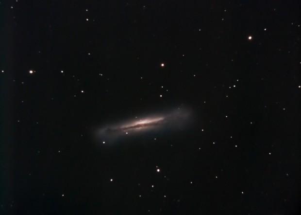 NGC 3628,                                Mark Sansom