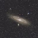 Her majesty Andromeda Galaxy,                                Eric MAZALEYRAT