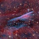 Pencil Nebula - Image Contest,                                Samara