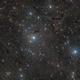 Light and Dark Nebulae in Cassiopeia,                                Steve Milne