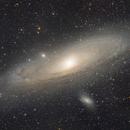 Andromeda - Three Panel Mosaic,                                Matt Harbison