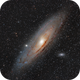 Andromeda Galaxy / Hyperstar,                                Elmiko
