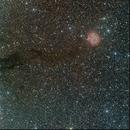 IC 5146 alias Caldwell 19, Sh 2-125, et Cocoon Nebula Get