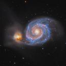 Messier 51  -   LRGB / H-alpha,                                Lars Stephan