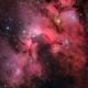 SH2-155 Cave Nebula,                                Frank Iwaszkiewicz